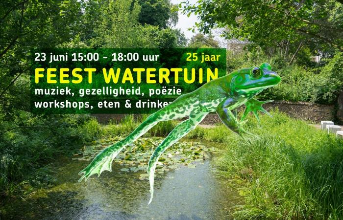Feest in de Watertuin 25 jaar!