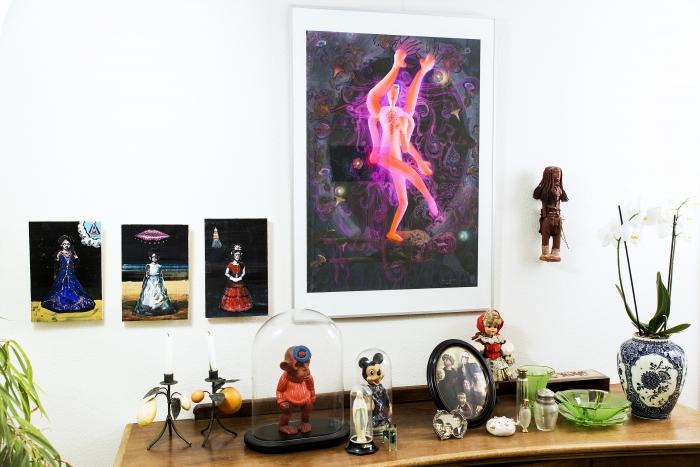 Kunst op de Koffie maakt een KUNSTKALENDER met kunst uit Arnhemse huiskamers