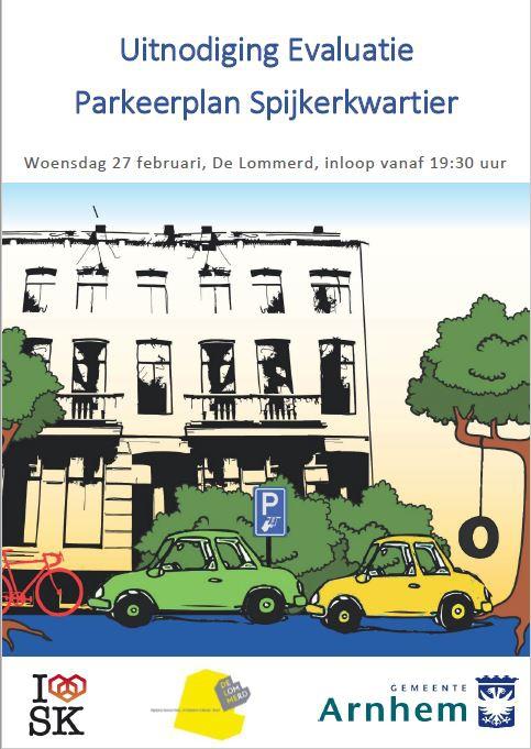 Evaluatie Parkeerplan Spijkerkwartier | Praat mee, u komt toch ook?