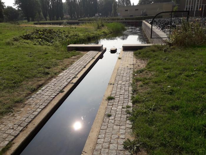 Wateraanpassing op Park Thialf