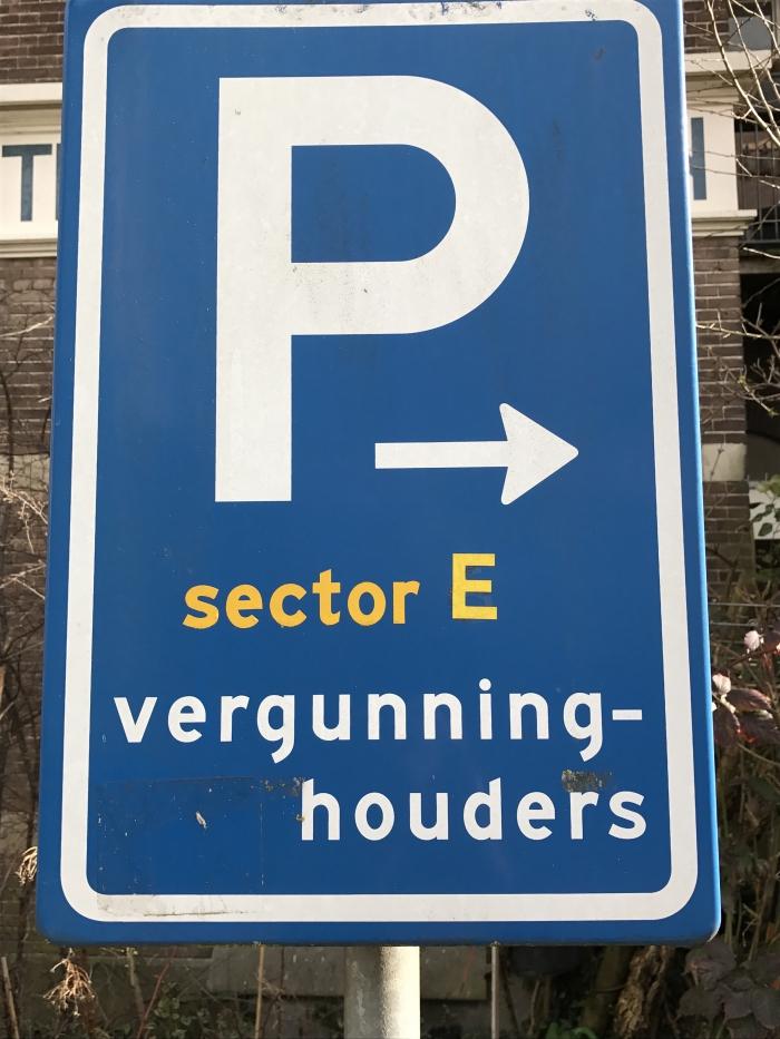 In welke sector kan ik parkeren?