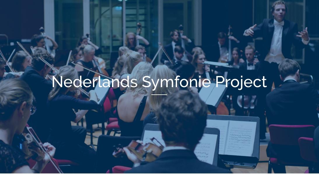 Nederlands Symfonie Project: Isolement